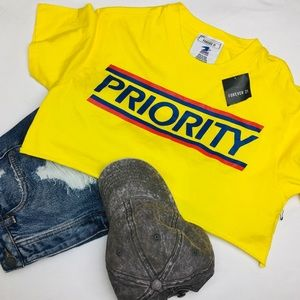 Forever21 • USPS Priority Mail • Crop Top